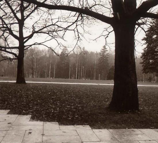 """Mariusz Hermanowicz z cyklu """"10 LAT"""" zdjecie z wystawy pt. """"Odwiedziny"""" Galeria Zwiazku Artystow Fotografow Litewskich, Wilno 10 - 30 czerwca 1998"""