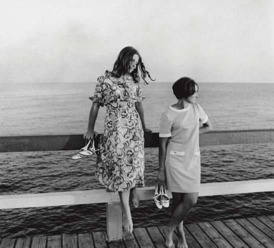 1968_On the Bridge. Palanga